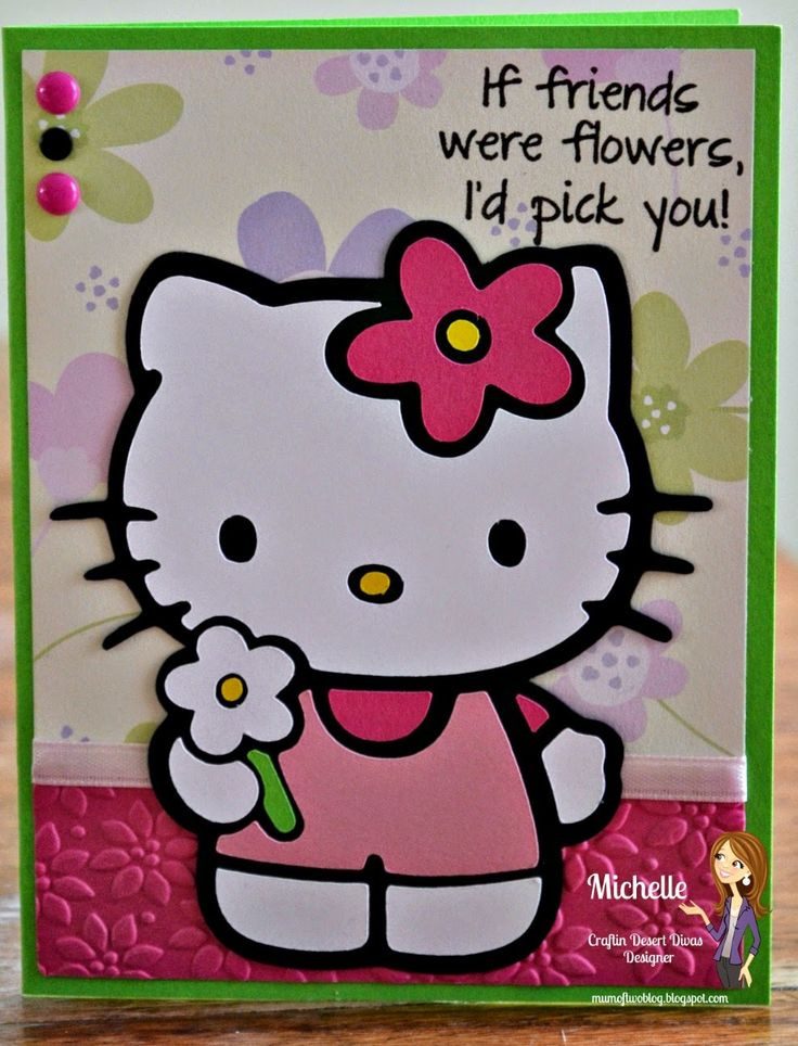 26 best hello kitty cards images on pinterest cards cricut craft hello kitty greetings cricut cartridge m4hsunfo