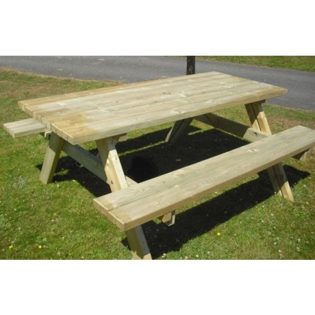Picnic Bench £240  sustainable-furnture.co.uk