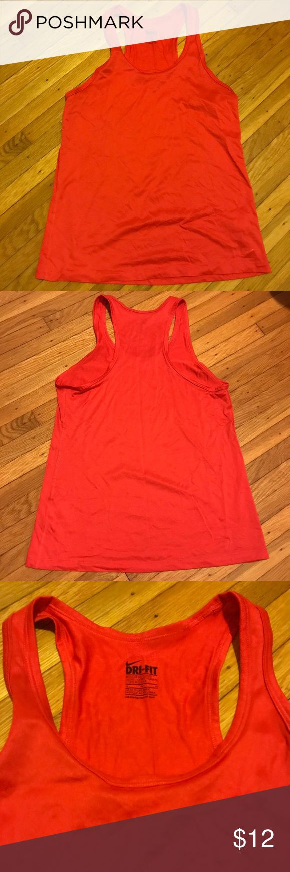 Nike Tank Top This tank top has only been worn a handful of times. It is dri-fit material and great for working out. I love this color and wish this still fit me! Nike Tops Tank Tops