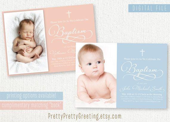 17 best Anton Baptism inspiration board images on Pinterest - best of sample invitation of baptism