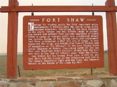 fort shaw guys Visit our blog page to learn  to see the other guys and woodworks at  floweree, fort benton, fort peck, fort harrison, fort shaw, galata .