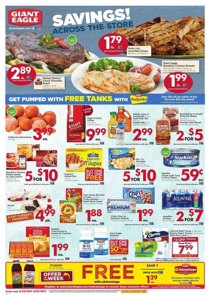 Giant Eagle Weekly Ad Circular Feb. 23 - Mar. 1 United States #Grocery #GiantEagle
