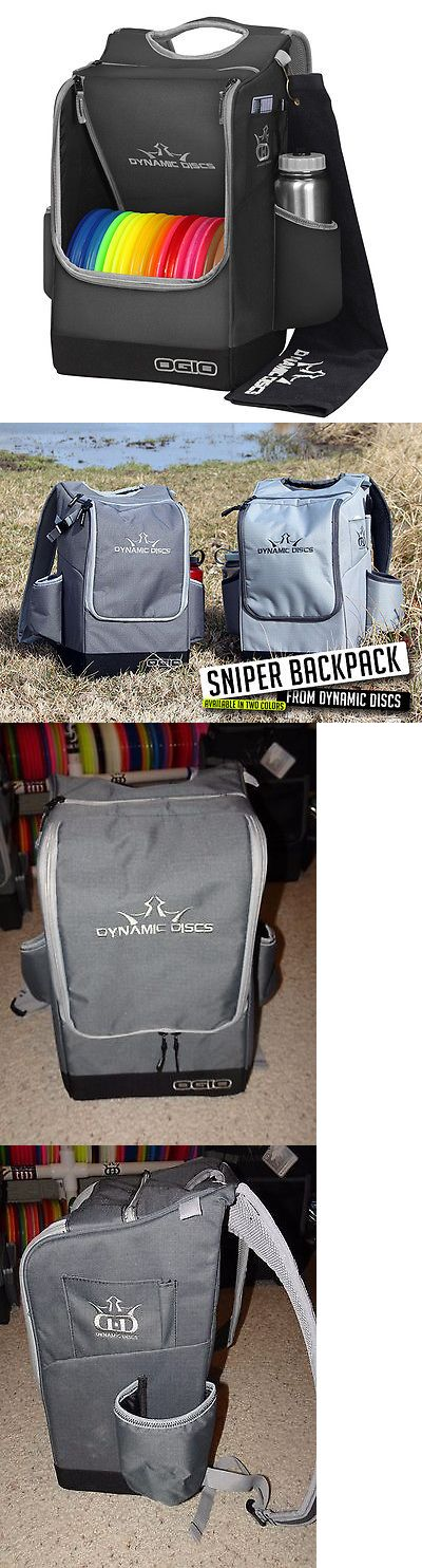 Disc Golf 20851: **New** Dynamic Discs Sniper Disc Golf Backpack Bag - Dark Gray BUY IT NOW ONLY: $72.99