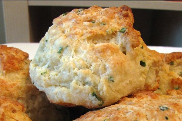 Marc Forgione's Family Recipe for Cheddar-Chive Biscuits