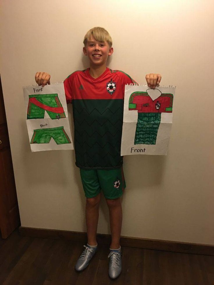 What started out as a couple of drawings and a pair of duct-tape soccer cleats, turned into a custom-made uniform and shoes for a young Edmonton soccer fan, thanks to Adidas.