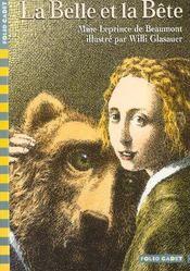 Livre - La belle et la bête - Jeanne-Marie Leprince de Beaumont