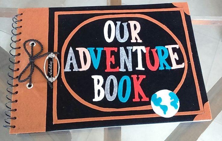 Notebook  Movie UP Gifts  Our Adventure Book انتيكا  حب الجمال فن اسعاد الاخرين <3