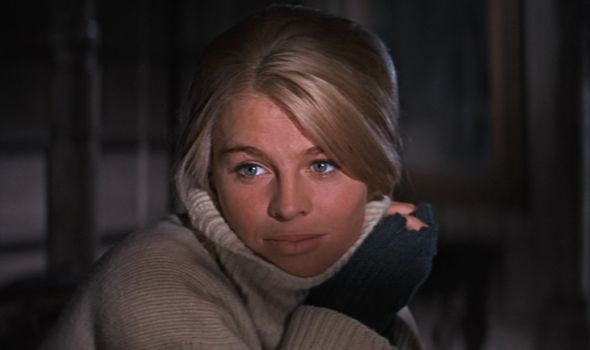 Julie Christie in Dr Zhivago