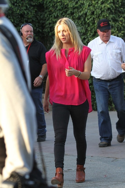 Kaley Cuoco at 'Hollywood Charity Horse Show' in Burbank on April 27, 2013