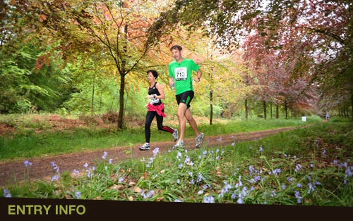 Runners World Trailblazer Race - nearest is the Forest of Dean. I rather like the Forest of Dean (except for one time which resulted in a fast retreat with strains of Deliverance's Duelling Banjo's going through my head! O_o)