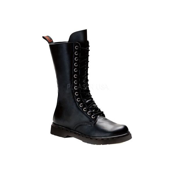 Men's Demonia Defiant 300 Boot - Black Vegan Leather Casual (5.180 RUB) ❤ liked on Polyvore featuring men's fashion, men's shoes, men's boots, casual, combat boots, mens army boots, mens zipper shoes, mens military boots, mens black combat boots and mens zipper boots
