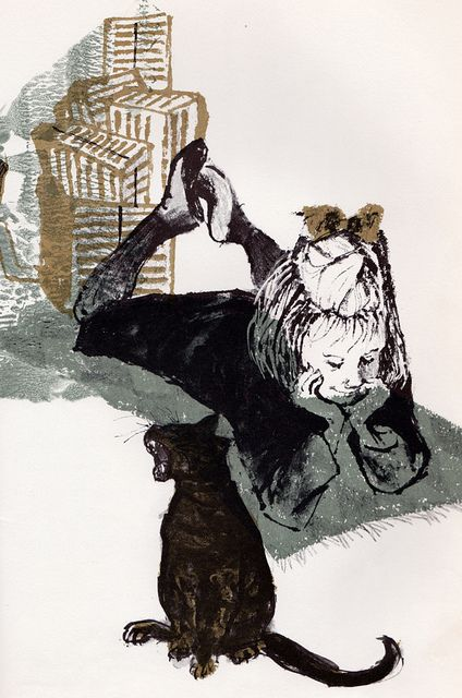 Sam, Bangs & Moonshine - written & illustrated by Evaline Ness (1966)