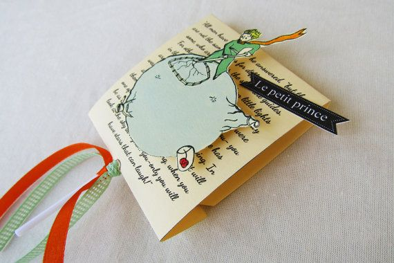 BIRTHDAY FAVORS the little prince lollipop gift le by COLOR4FUN