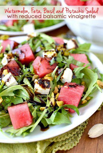 Salat vinaigrette balsamico