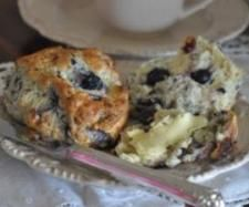 Blueberry and White Chocolate Scones | Official Thermomix Recipe Community