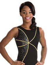 Onyx Gabby Douglas Leotard from GK Gymnastics