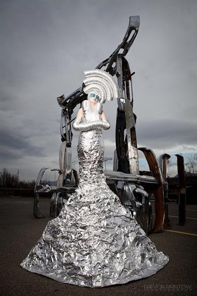 Фото самодельного костюма инопланетянина