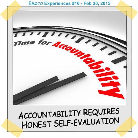 Accountability Requires Honest Self-Evaluation ⋆ Emojo
