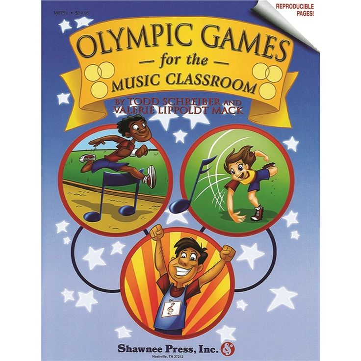 Olympic Games for the Music Classroom ( 839739), M, B & R Music Classroom Books & Materials General Music Classroom