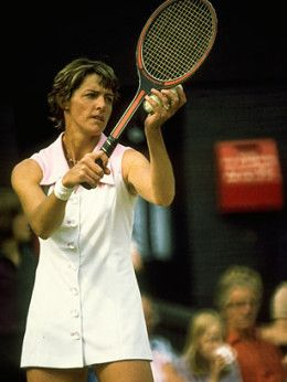 Margaret Court. Wimbledon in the wee hours. Dad cocoa and mint slices