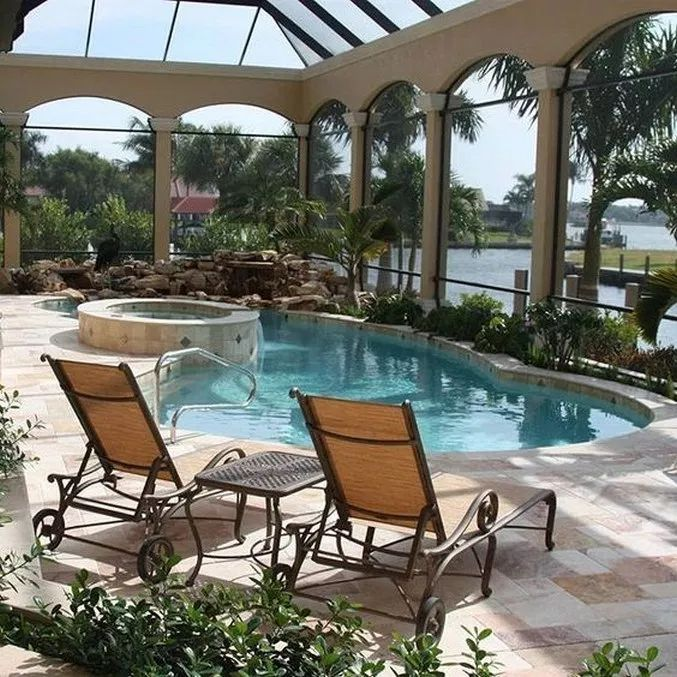 epic private backyard pools - 677×677