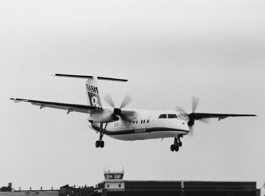 Throwback Thursday: 1983, June 20 – Initial flight of the Dash-8 Series 100 aircraft. This short-haul aircraft was introduced during the airline industry expansion launching the new generation of regional airliners.