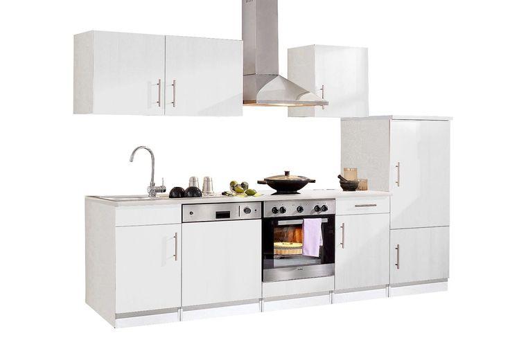 Held Möbel Küchenzeile mit E-Geräten »Samos«, Breite 160 cm Jetzt - küchenzeile 220 cm mit elektrogeräten