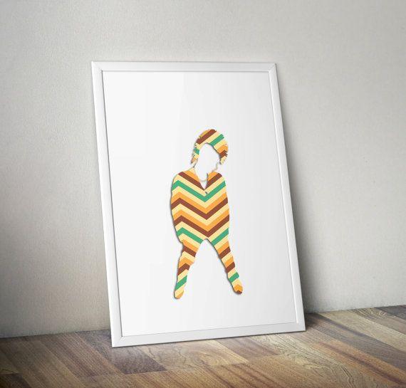 #punk #digitalart #printable #wallart #digitalprint #illustration #homedecor #walldecor