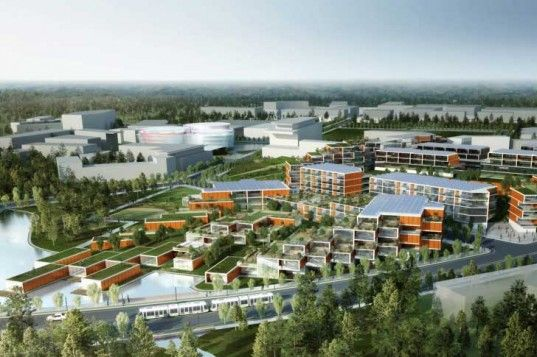 New Master Plan for North Carolina's Research Triangle Park Will Stress Sustainable Development | Inhabitat - Sustainable Design Innovation, Eco Architecture, Green Building