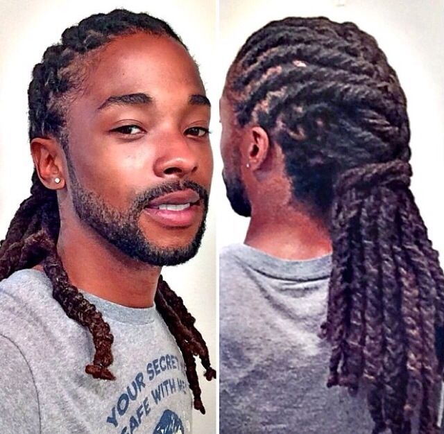 I can't wait until my Locs are this long to twist and style