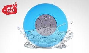 Groupon - Bocina Shower Bluetooth sumergible portátil en color a elegir. Incluye envío. Precio Groupon: $199