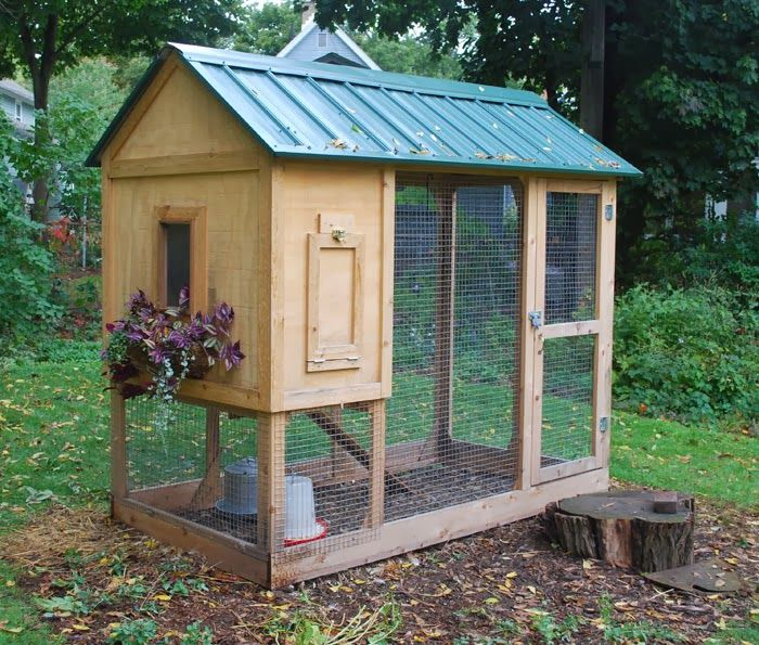 Chicken house plans chicken house designs chicken coop for Small chicken house plans