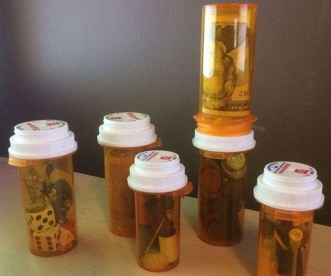 68 Ways to Reuse Old Prescription Medicine Bottles