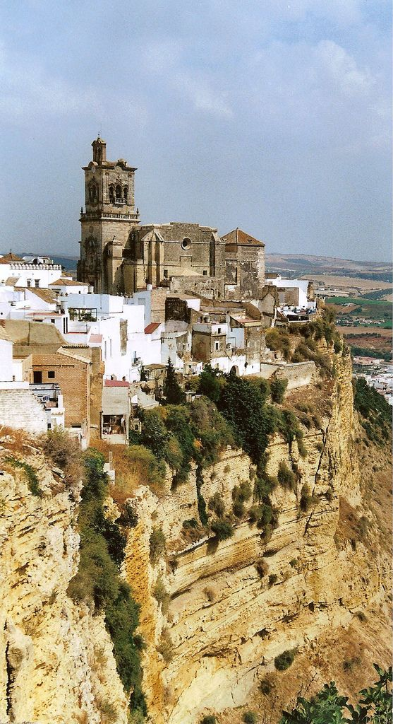 Arcos de la Frontera,Andalucia. Our tips on 25 Things to Do in Spain: http://www.europealacarte.co.uk/blog/2012/02/09/what-to-do-in-spain/