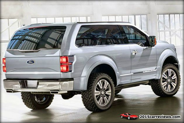 2016 Ford SVT Bronco rear