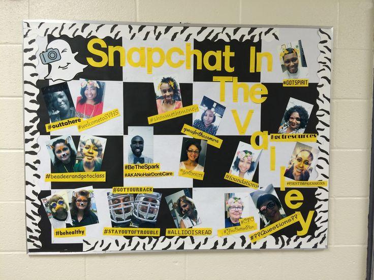 Snapchat Bulletin Board Tru Design Pinterest