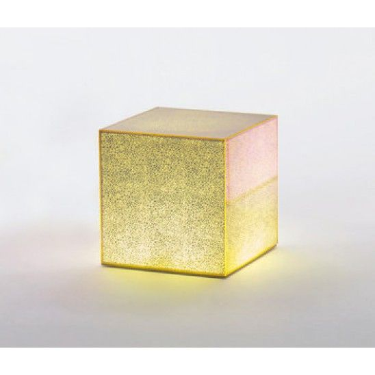 Crack 01/ 02 is a low #coffeetable with dimmer light or without light with parallelepiped shape in glass by @glasitalia