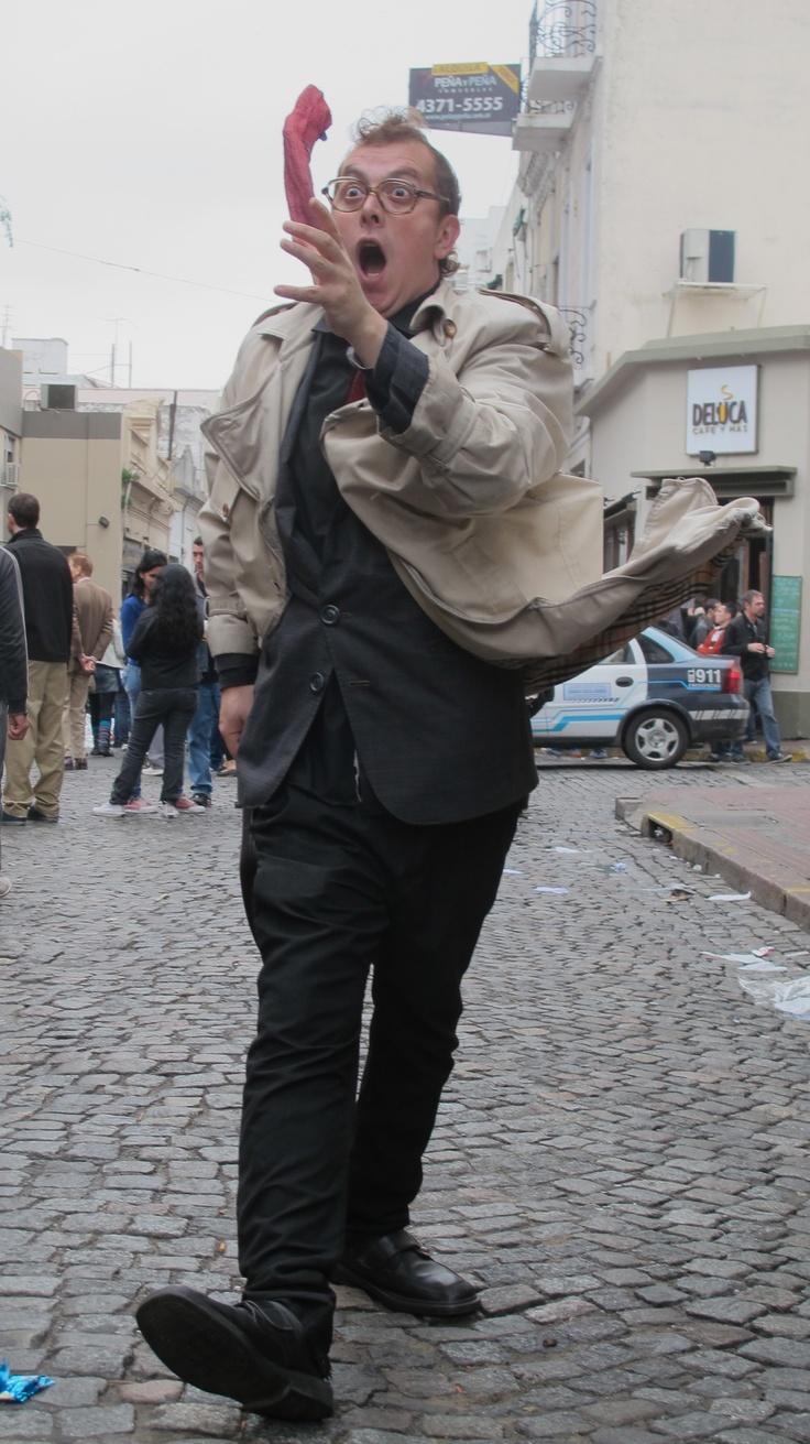 Street performer, San Telmo, Buenos Aires