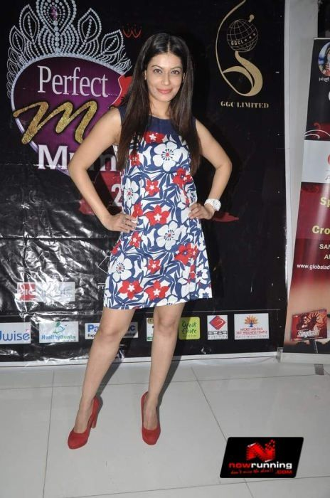 Payal Rohatgi at the auditions of 'Perfect Miss Mumbai 2014'