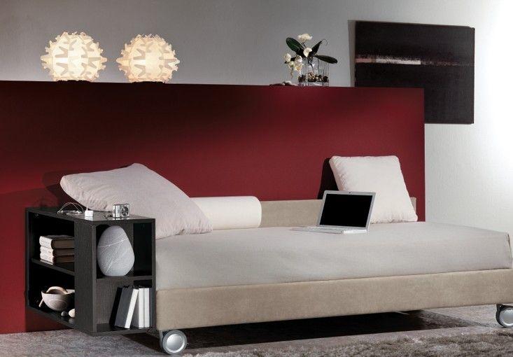 BADROOM - centri camerette specializzati in camere e camerette per ragazzi - letto singolo con libreria