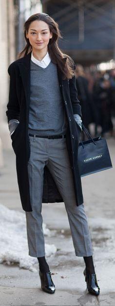 Как сочетать зимнюю обувь с юбкой, брюками, джинсами и т.п.? - Lena View