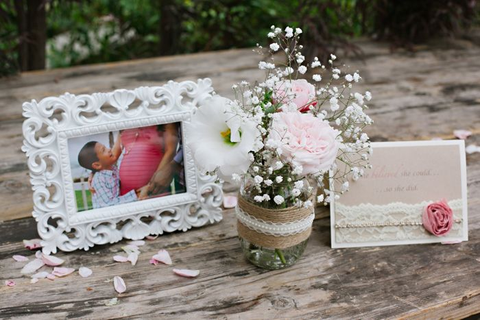 Ideas for a Shabby Chic Baby Shower - #babyshower #shabbychic