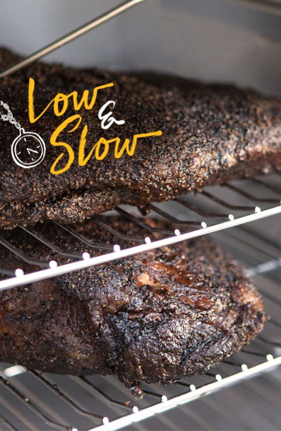 Learning how to get perfectly  smoked brisket in a Digital  Smoker is as easy as pushing  a button. Set it. Forget it. Have  the app remind you when it's  ready. | Char-Broil