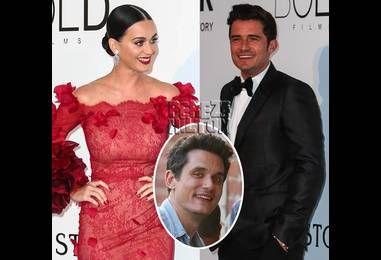 Awkward! Katy Perry & Orlando Bloom Go On A Date Night — And Run Across John Mayer!