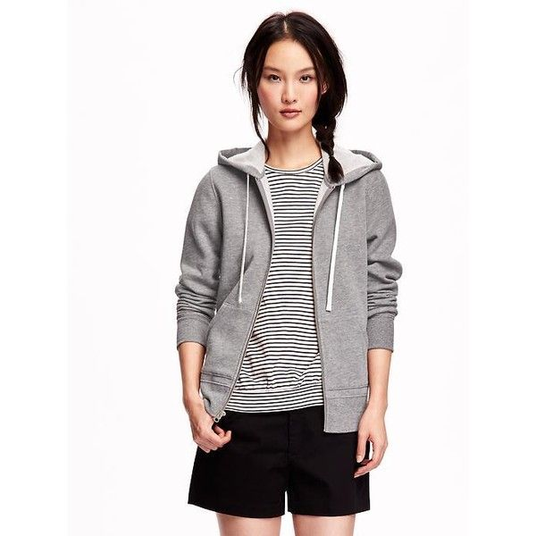 Old Navy Relaxed Front Zip Hoodie ($18) ❤ liked on Polyvore featuring tops, hoodies, grey, old navy hoodie, old navy hoodies, zip front hoodies, hooded sweatshirt and long sleeve tops