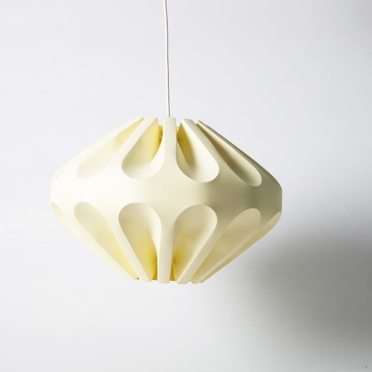 Spectacular wax paper pendant lamp.  SIZE  To be updated  STOCK  1 Available