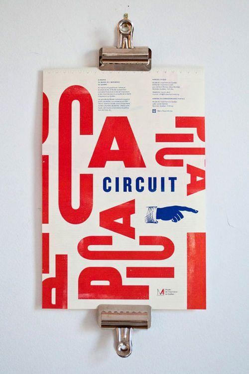 Circuit typographique avec Maude Paquette-Boulva