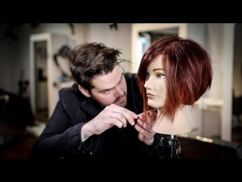 A Disconnected Bob Haircut Tutorial | MATT BECK VLOG 91