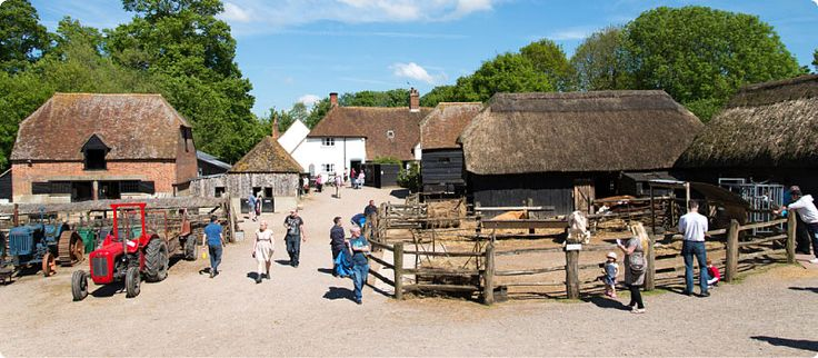 Visit our working historic farm…