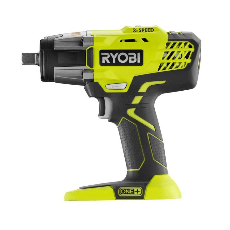 Ryobi 18-Volt ONE+ 1/2 in. Cordless 3-Speed Impact Wrench (Tool-Only)